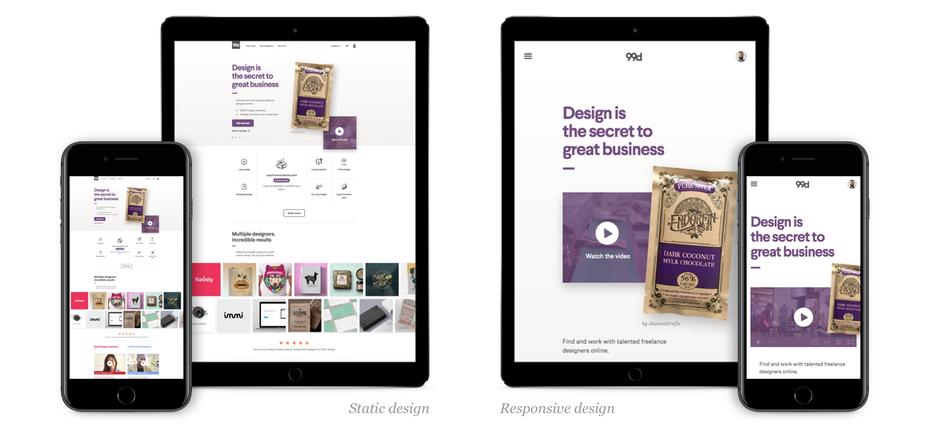 Responsive Web Design - VisionAmp Web Design, Arkansas