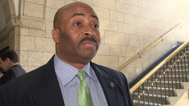 Senator Don Meredith has been referred to the ethics officer after a report of an inappropriate sexual affair with a young woman, which prompted his removal from the Conservative caucus.