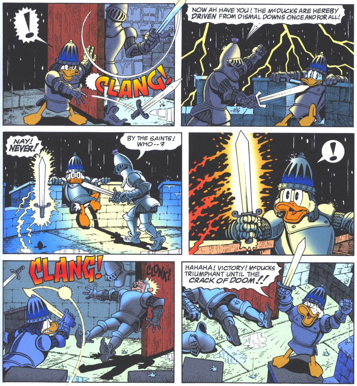 Image result for scrooge mcduck sword