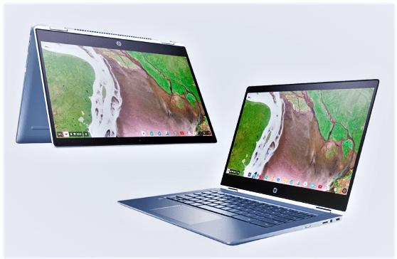 HP Chromebook x360 12 display