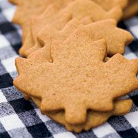 cookie cutter ginger crisps