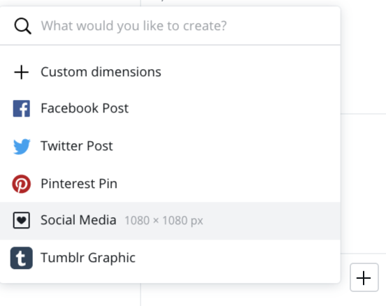 Is Instagram on Canva content planner