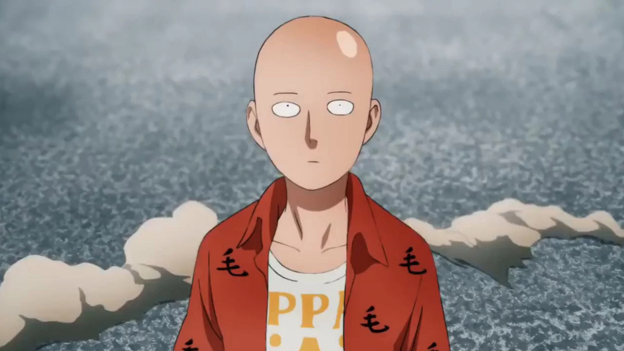 One Punch Man looking forward