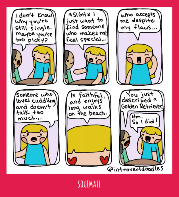 """Introverts, Anti-Social, People-Shy, Maureen """"Marzi"""" Wilson, Comic Series, Introvert Doodles"""
