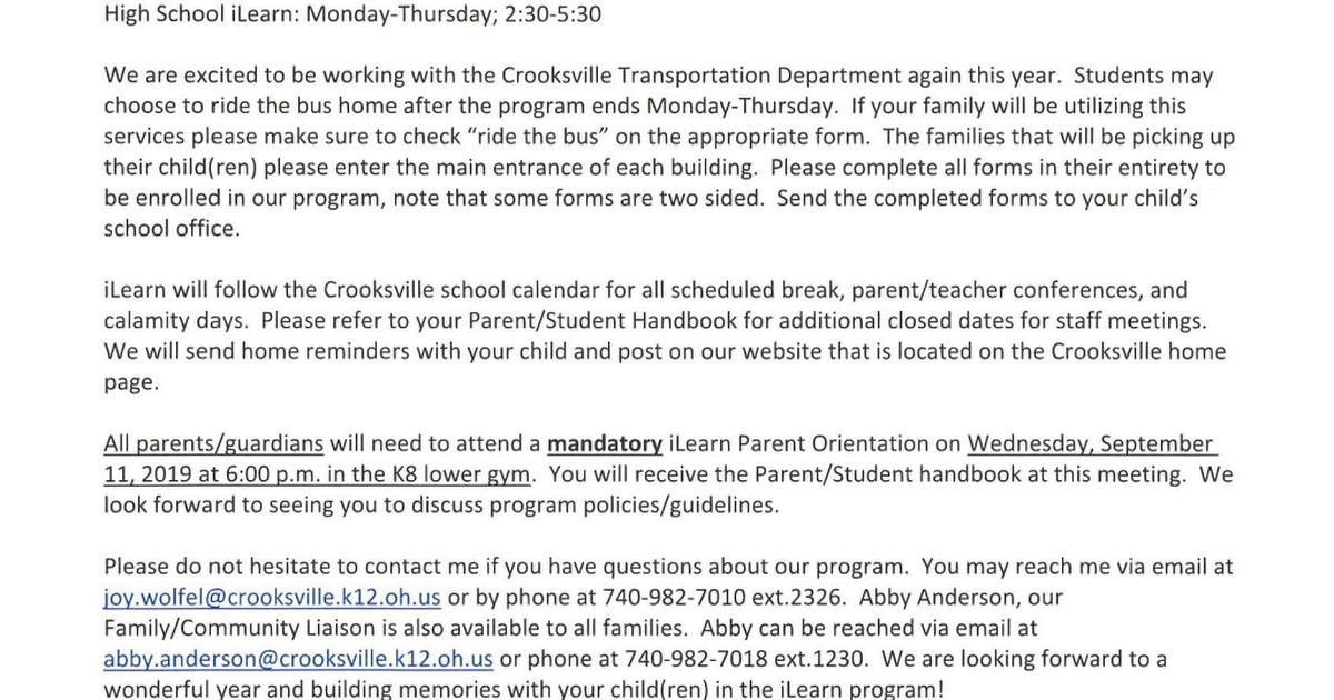 iLearn Parent Letter PDF - Google Drive