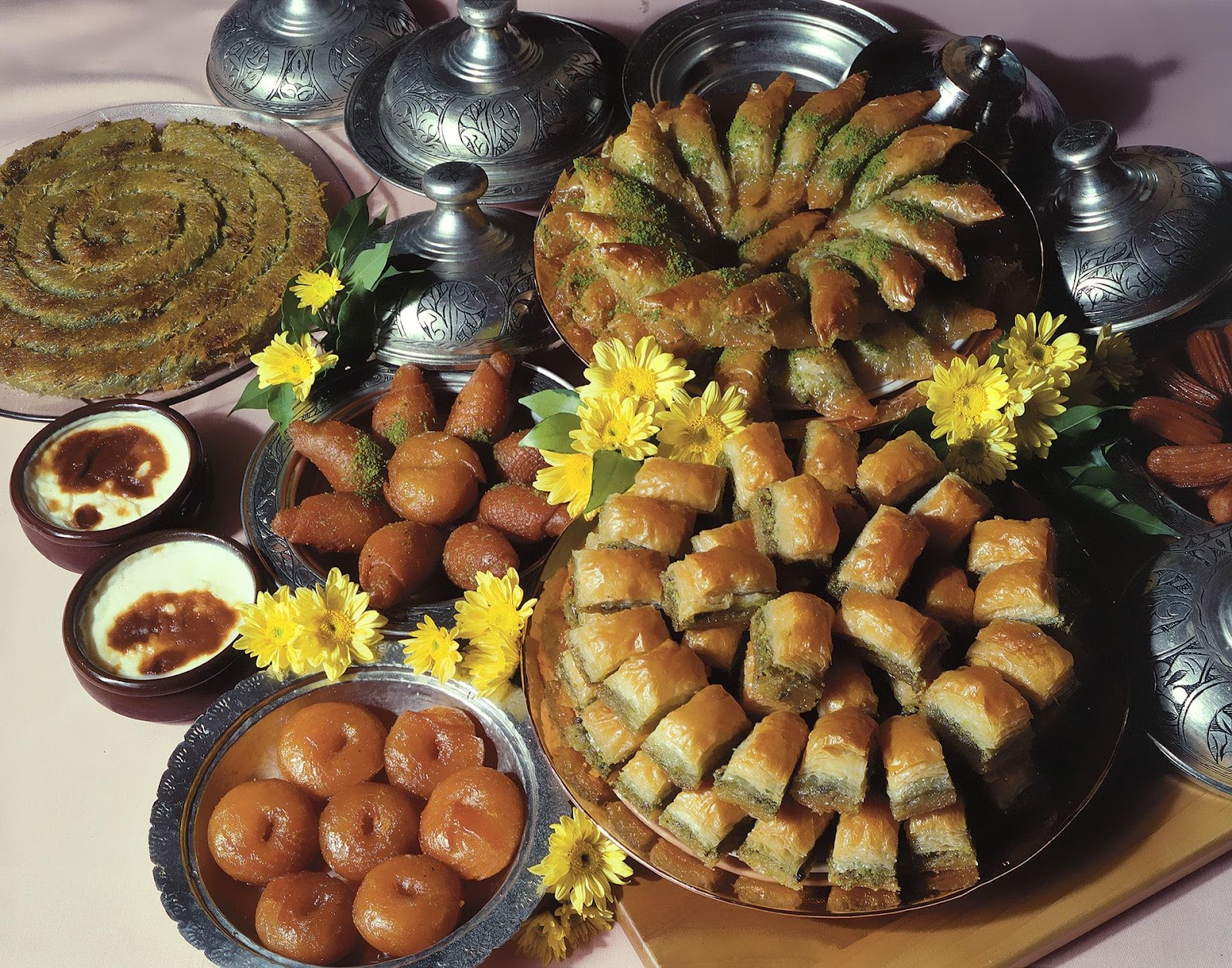 Turco Şerbetli tatlılar