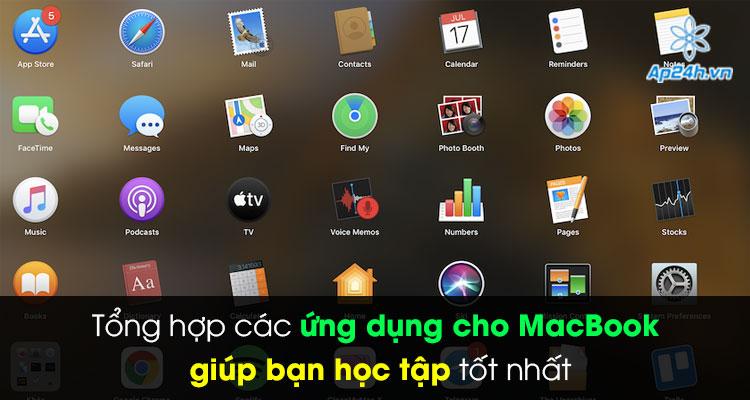 các ứng dụng trên MacBook