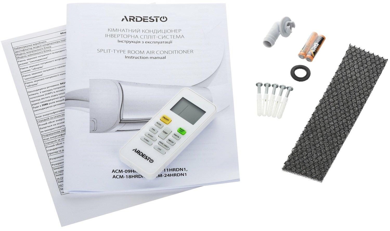 Пульт, инструкция и всякие мелочи к кондиционеру Ardesto ACM-09HRDN1