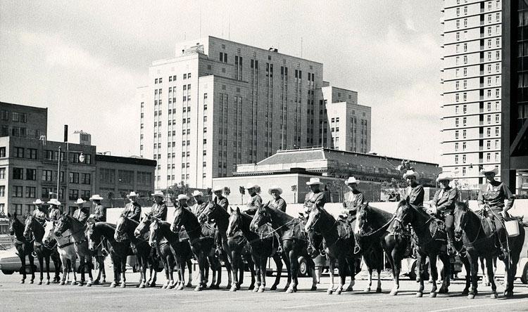 Tuolumne County Sheriff's Posse, San Francisco Labor Day Parade, undated photo