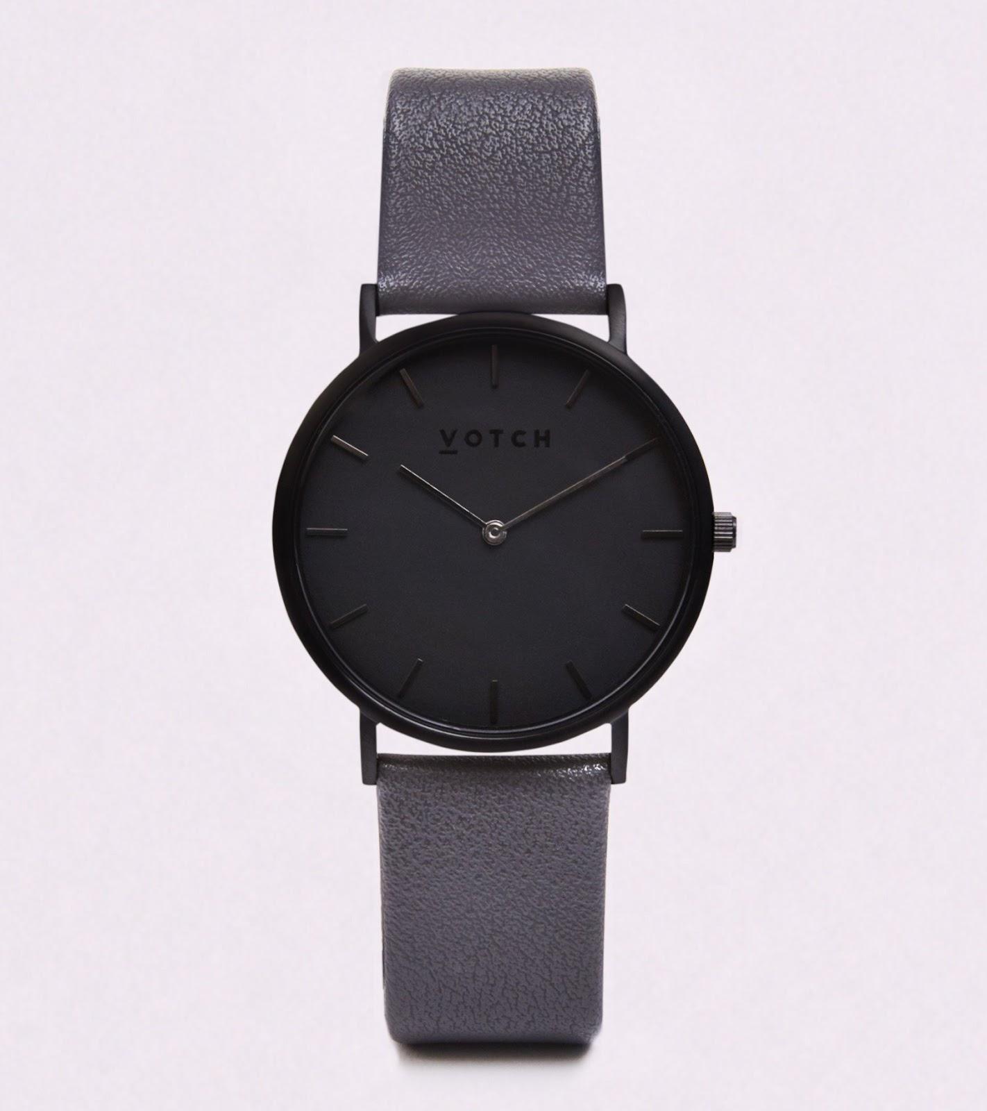 vegan leather watch