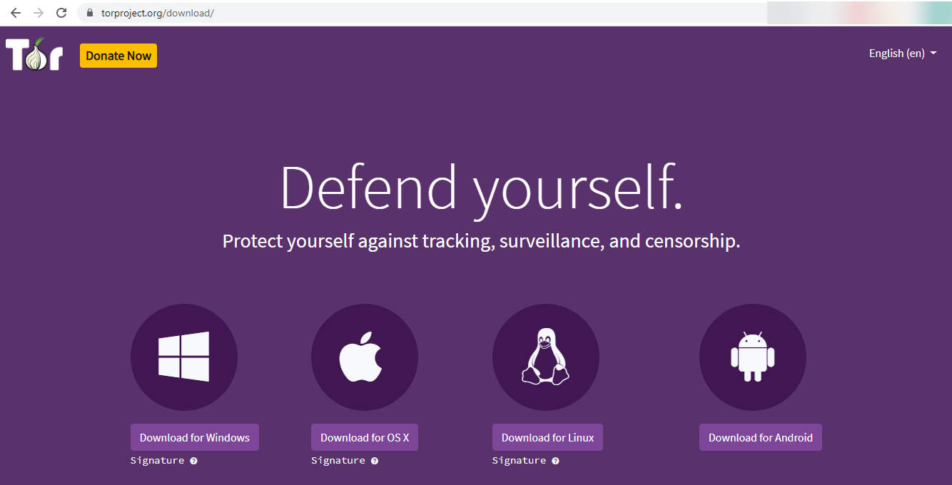 Tor-browser OS
