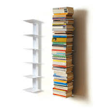 small vertical book shelve