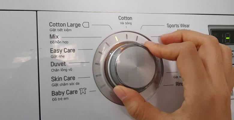 sửa lỗi ie máy giặt lg