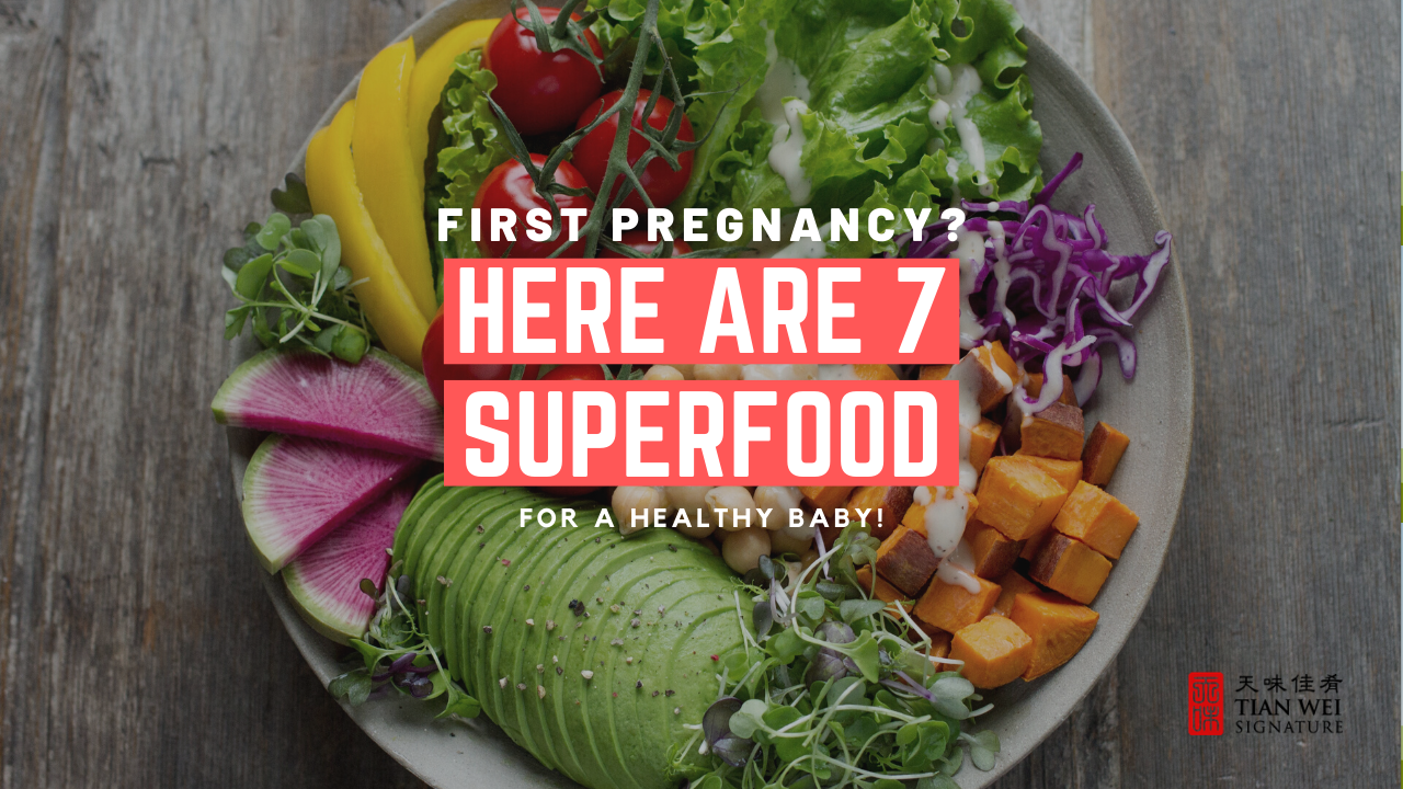 First Pregnancy? Here Are 7 Superfoods for a Healthy Baby!