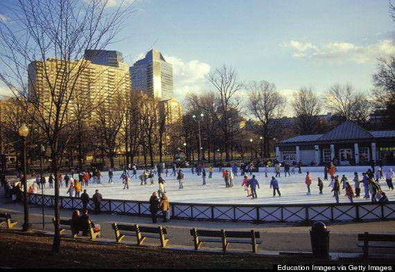 10 Outdoor Ice Rinks In The US You'll Want To Skate | Boston common,  Outdoor, Ice rink