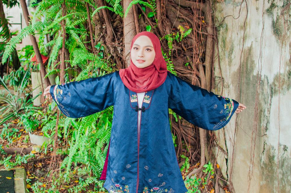 baju hanbok korea muslimah