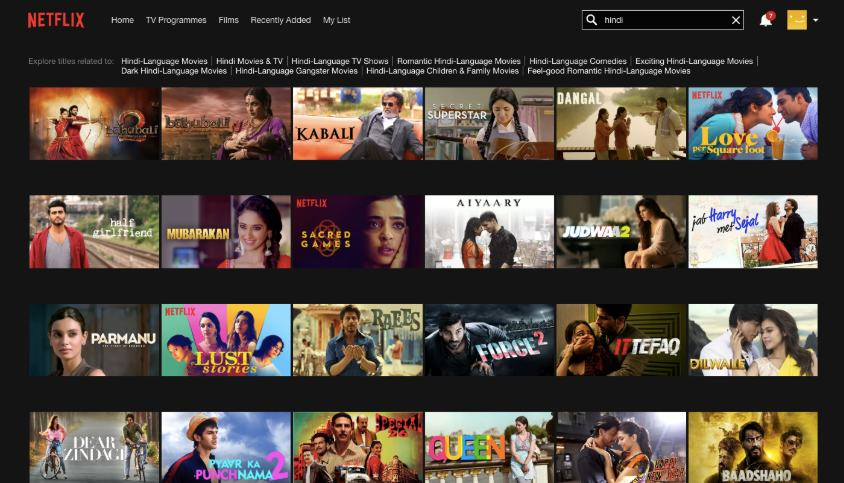 Best Bollywood Movies on Netflix