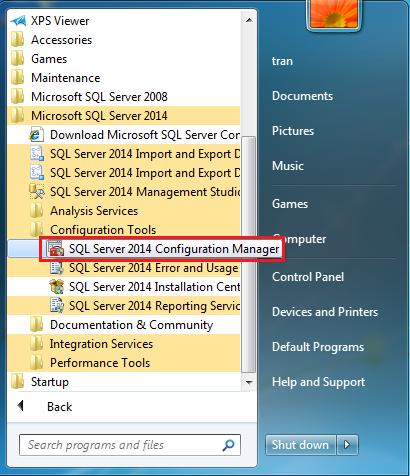 Hướng dẫn cài đặt và cấu hình SQL Server Express 2014