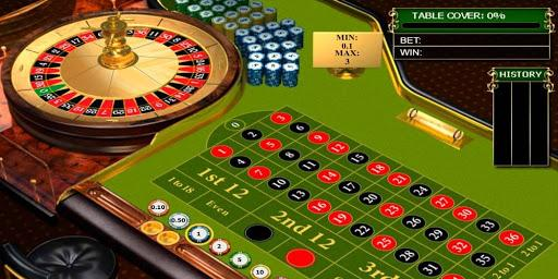 A picture containing roulette  Description automatically generated