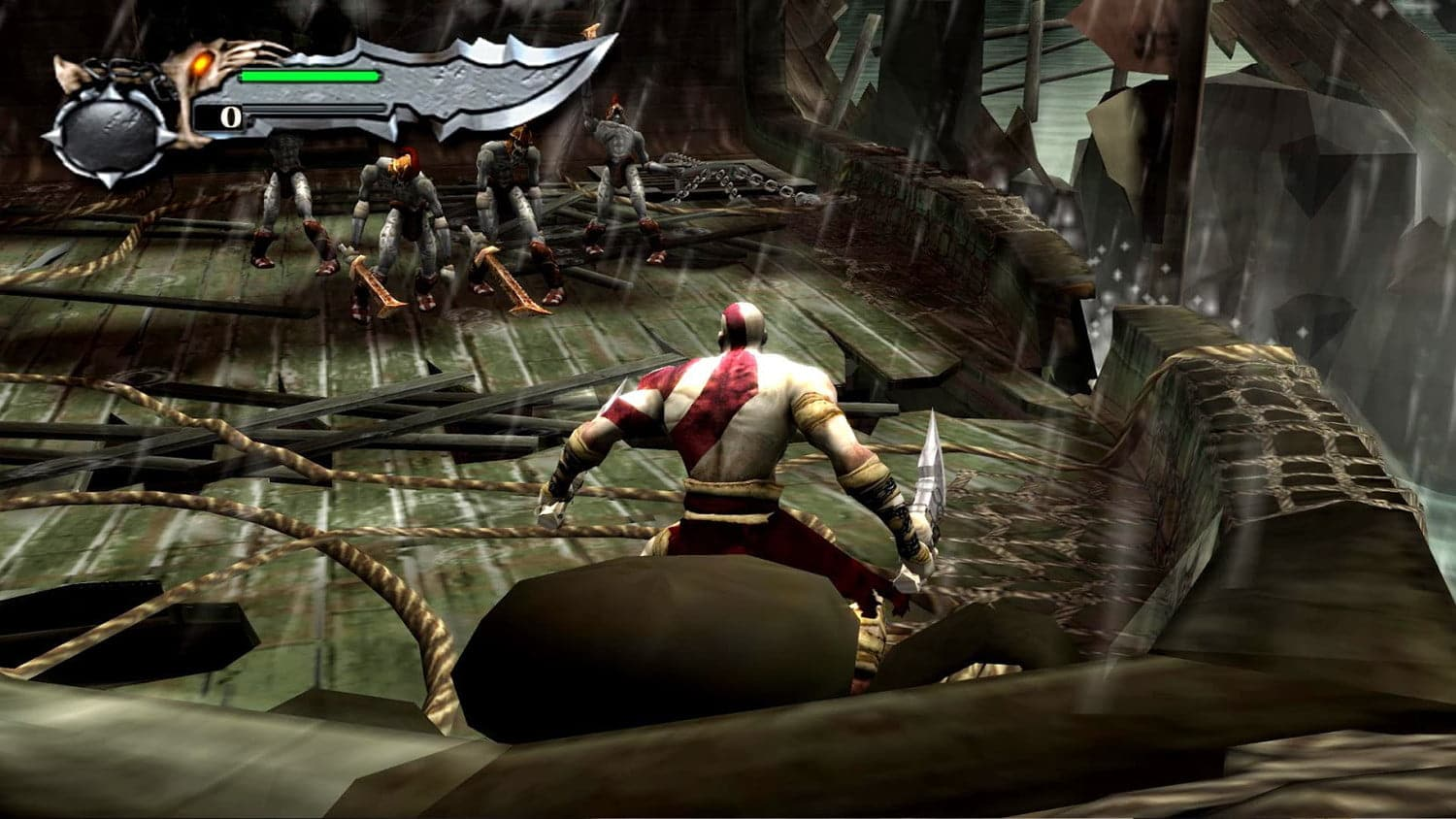 action in RPG game