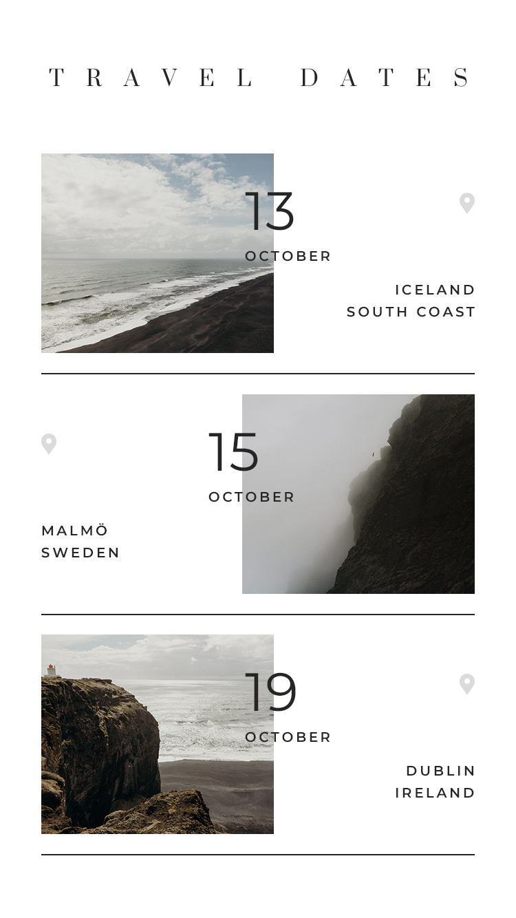 Flothemes Travel Dates Instagram Stories Templates