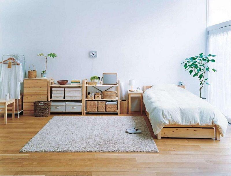 Thiết kế phòng ngủ giản đơn giống người Nhật Bản vẫn luôn được yêu thích