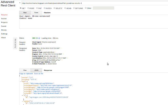 Advanced REST client - Chrome Web Store