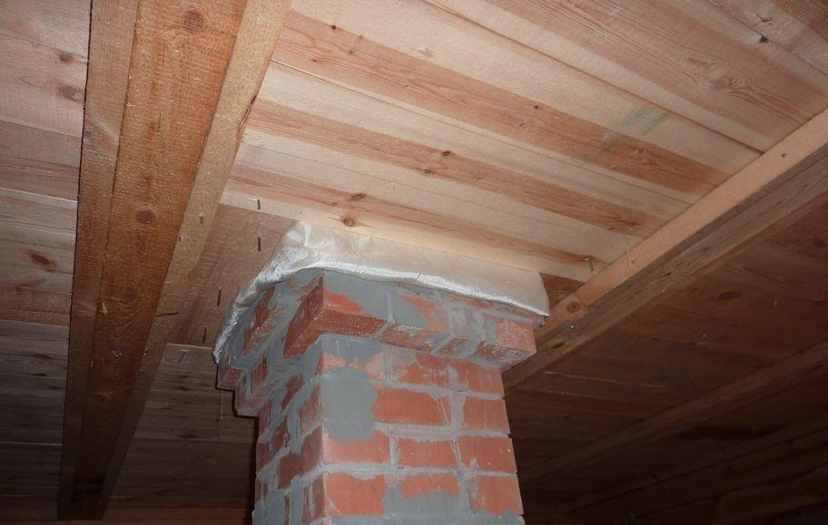 Как сделать дымоход в бане через потолок: правила, способы и ...
