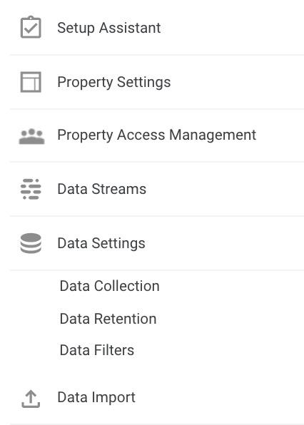 GA4 data filter set up