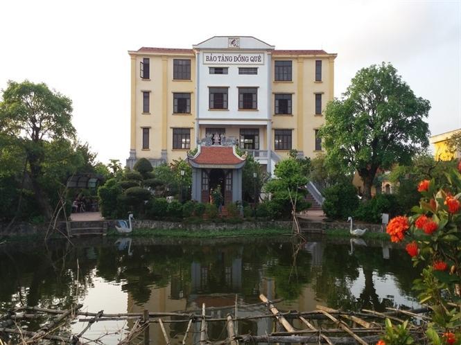 Tòa nhà chính của bảo tàng đồng quê