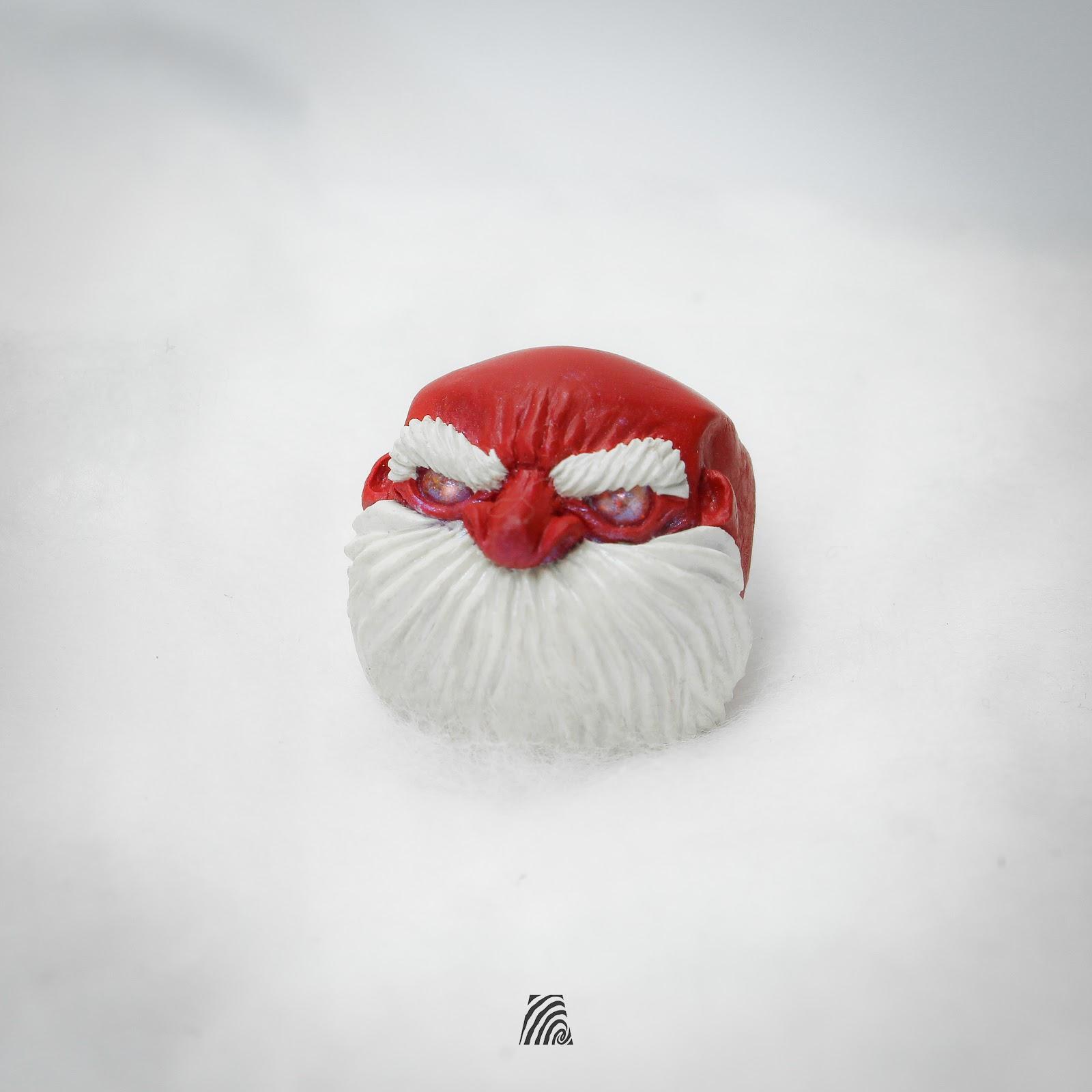 Artkey - Red Santa Jack Bald