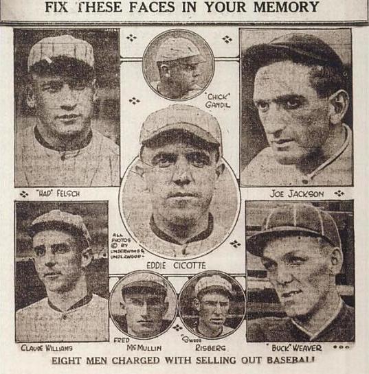 Black Sox Scandal - Wikipedia