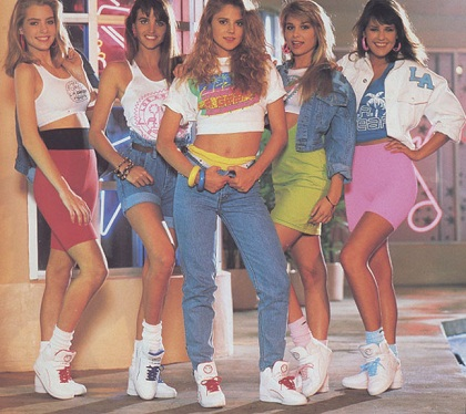 Leg Warmers Were Very Hip And Por In The 1980 S They Commonly Wore With Tennis Shoes