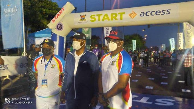 ACCESS BANK LAGOS CITY MARATHON: Bukola olopade⁩ Appreciates Nigerian Sports Minister, Chief Sunday Dare