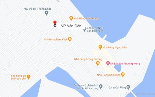 Địa chỉ Văn phòng nhà xe Trung thành Limousine tại Vân Đồn