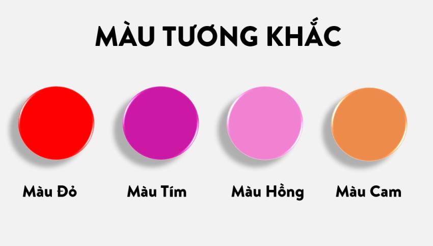 Những màu sắc tương khắc với người mệnh Kim