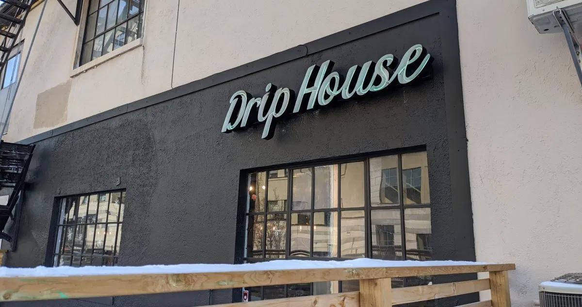 The exterior of a Drip House Café