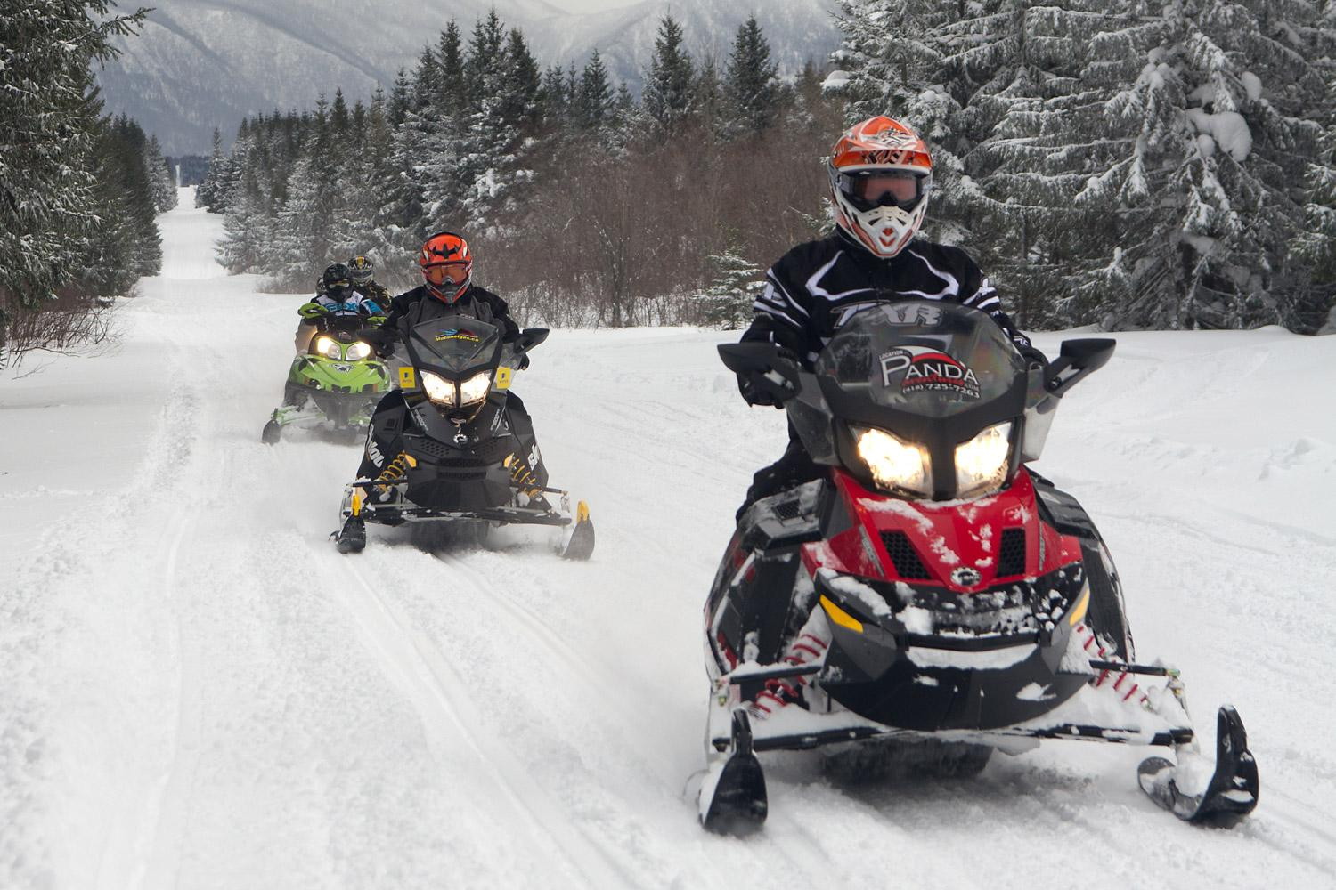 LOW COST OF SNOWMOBILING