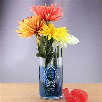 Öğretmenlere Özel İsimli Vazo