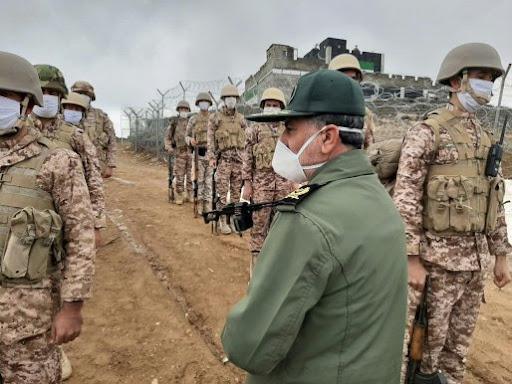 سراب خبر | بازدید فرمانده سپاه کردستان از پایگاه های تاکتیکی و عملیاتی بانه  + تصاویر