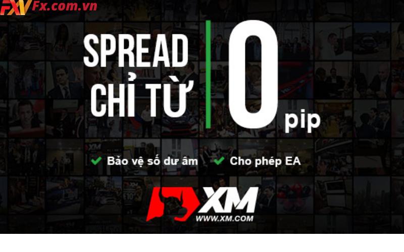Spread của XM