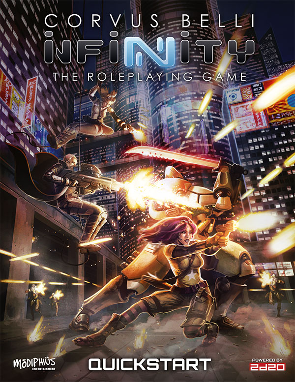 Infinity - Modiphius Entertainment