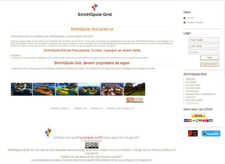 page accueil SirinHGpole-Grid