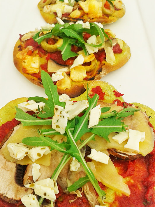 Welcome to Mommyhood: Healthy pizza recipe