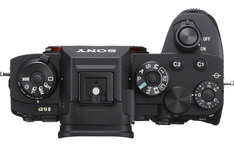 Фотоаппарат SONY Alpha a9 II body, вид сверху