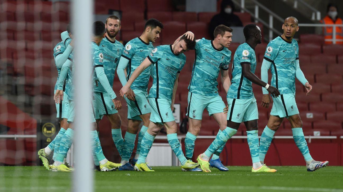 Liverpool đang dẫn lấy lại sự tự tin