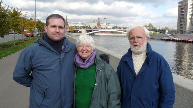 Пол Уилан с родителями