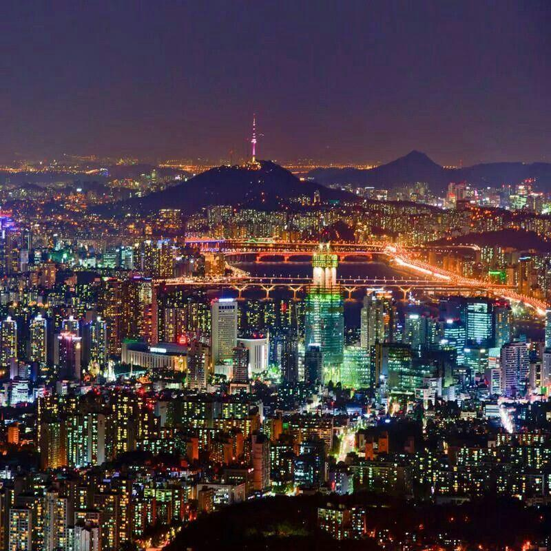 Image result for seoul nght