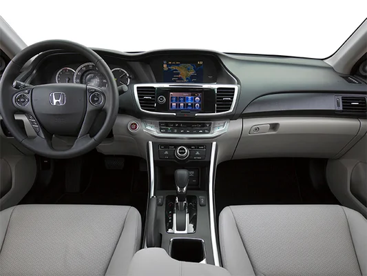 The interior of the Honda Accord 2014