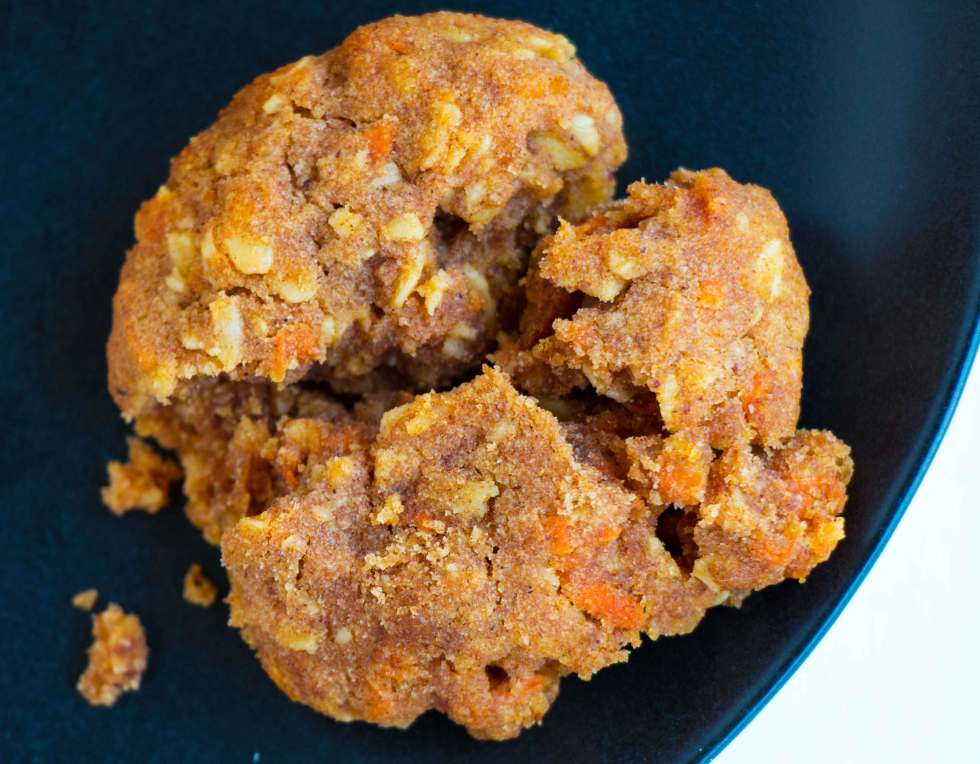 Healthy Cinnamon Carrot Cookies - Gluten-free, vegan cookies that are moist, delicious and easy to make.